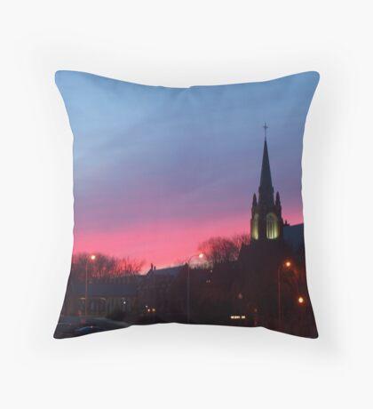 Twilight Sanctuary Throw Pillow