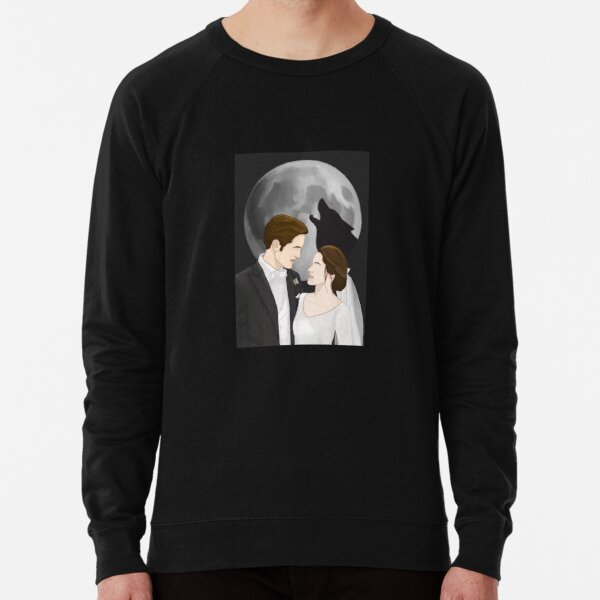 Edward and Bella Wedding Lightweight Sweatshirt
