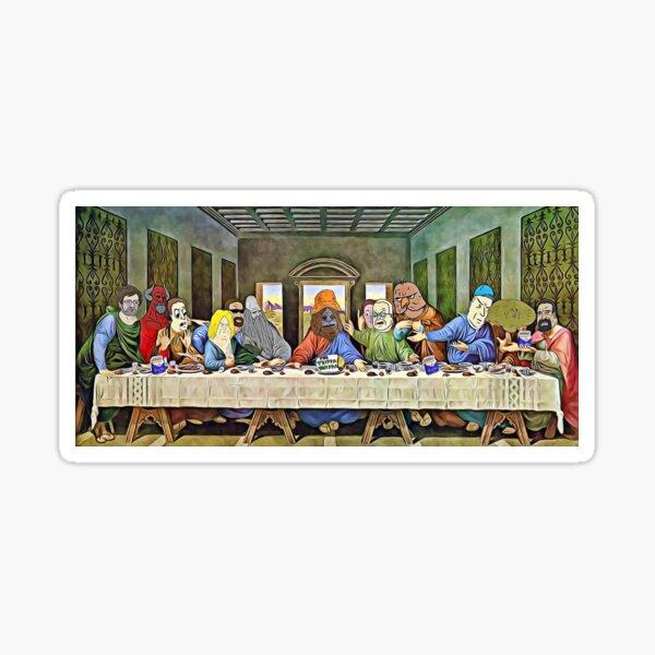 12 big lez apostles  Sticker