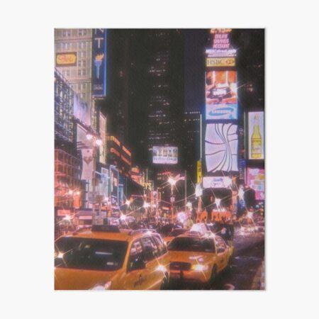 Times Square NYC  Art Board Print