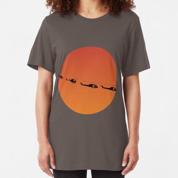 Apocalypse Now by burro Slim Fit T-Shirt