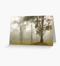 Wilberforce Morning Mist © Vicki Ferrari Greeting Card