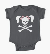 """Halloween """"Girl Sheleton With Pink Bows"""" T-Shirt Kids Clothes"""