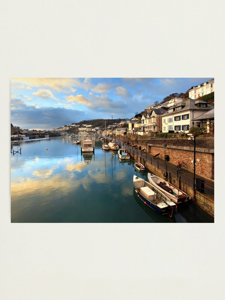 Alternate view of Sunrise Reflections (Looe) Photographic Print