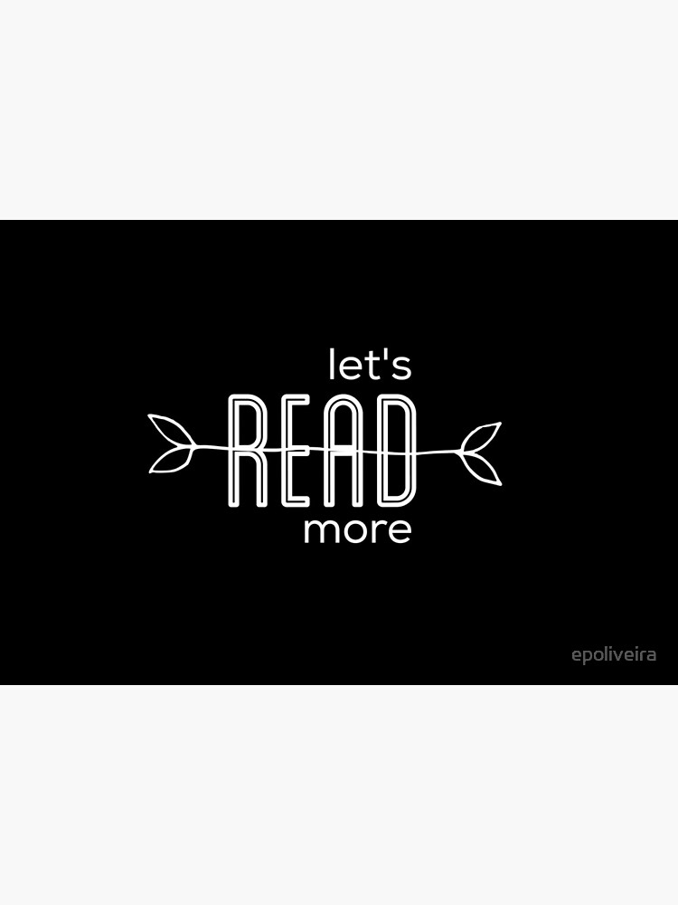Let's read more   book lovers by epoliveira