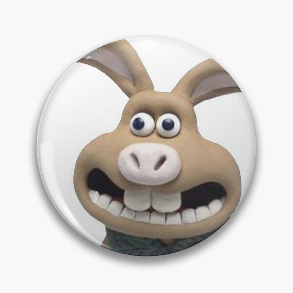 Were-Rabbit funny bunny Pin