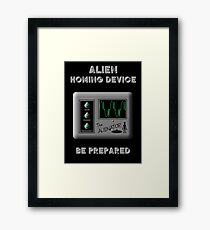 Alien Homing Device Framed Print
