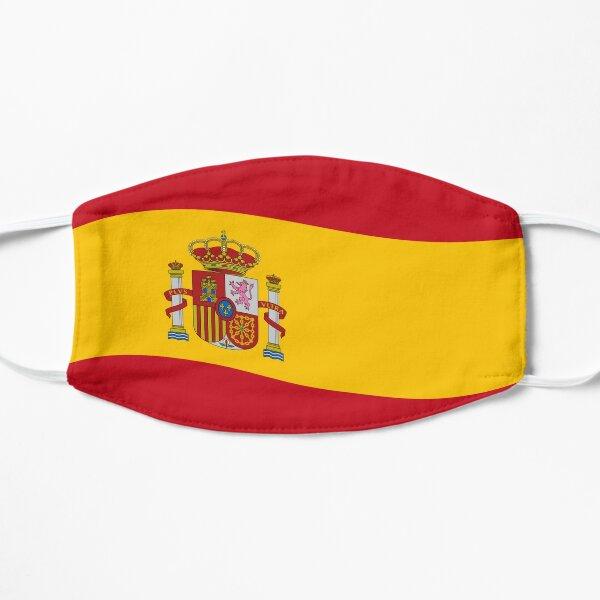 Bandera de españa Mascarilla plana