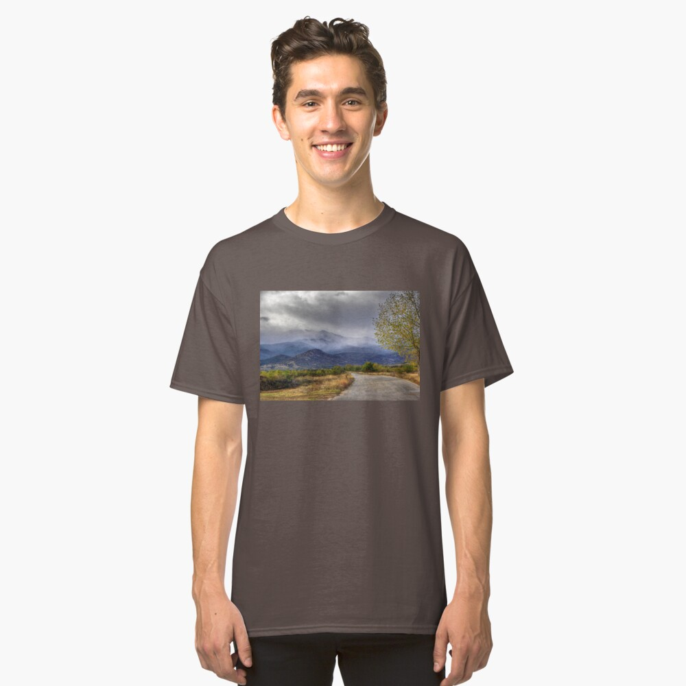 Road to Mountains Classic T-Shirt Front