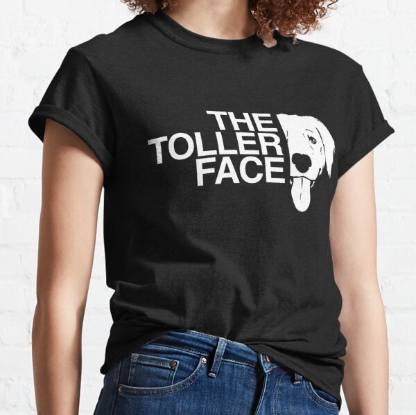 Novia Scotia Duck Tolling Retriever The Toller Face  Classic T-Shirt