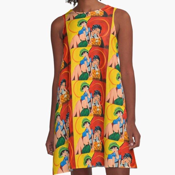 oh la la A-Line Dress