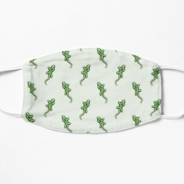 Copy of Little Green Lizards Pattern Mask