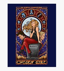 Chosen Girl Photographic Print