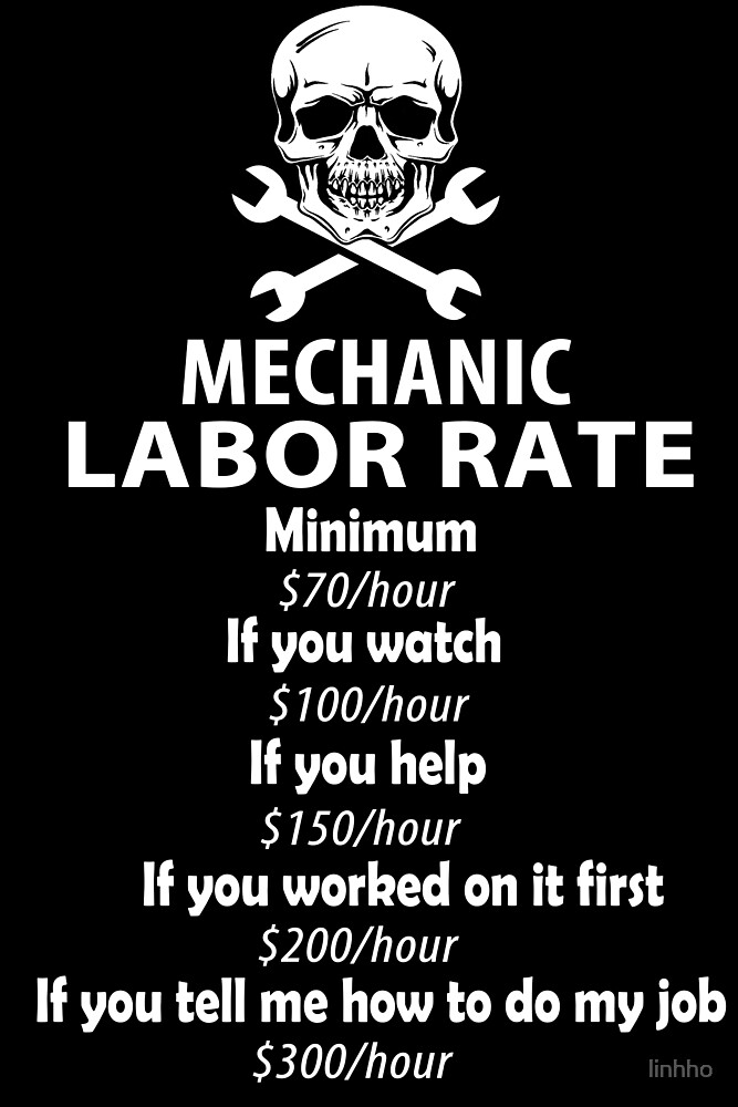 Mechanic Labour Rate by linhho