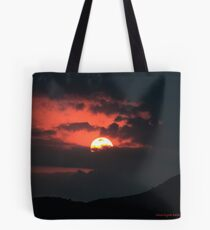 Early evening sunset Tote Bag
