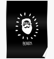 Beards. Poster
