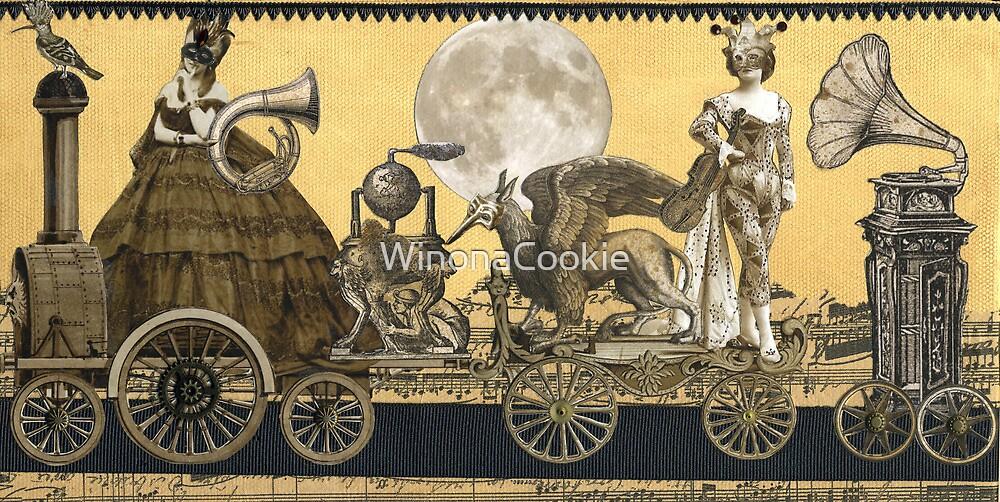 Magic Masquerade Train by WinonaCookie