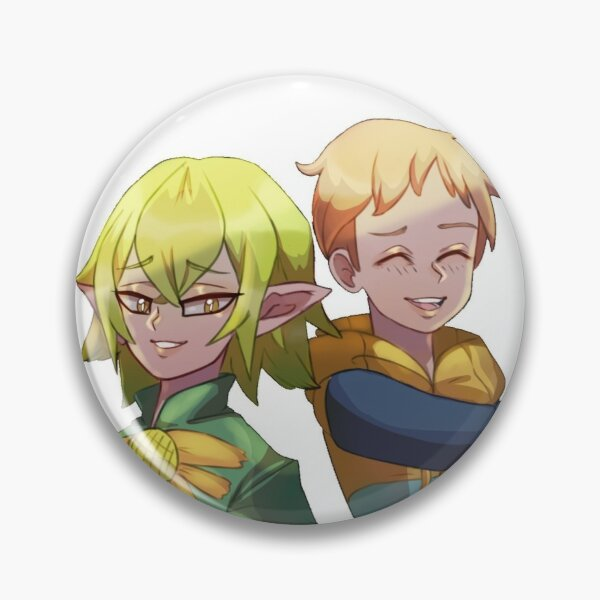 Helbram and King Seven Deadly Sins Pin