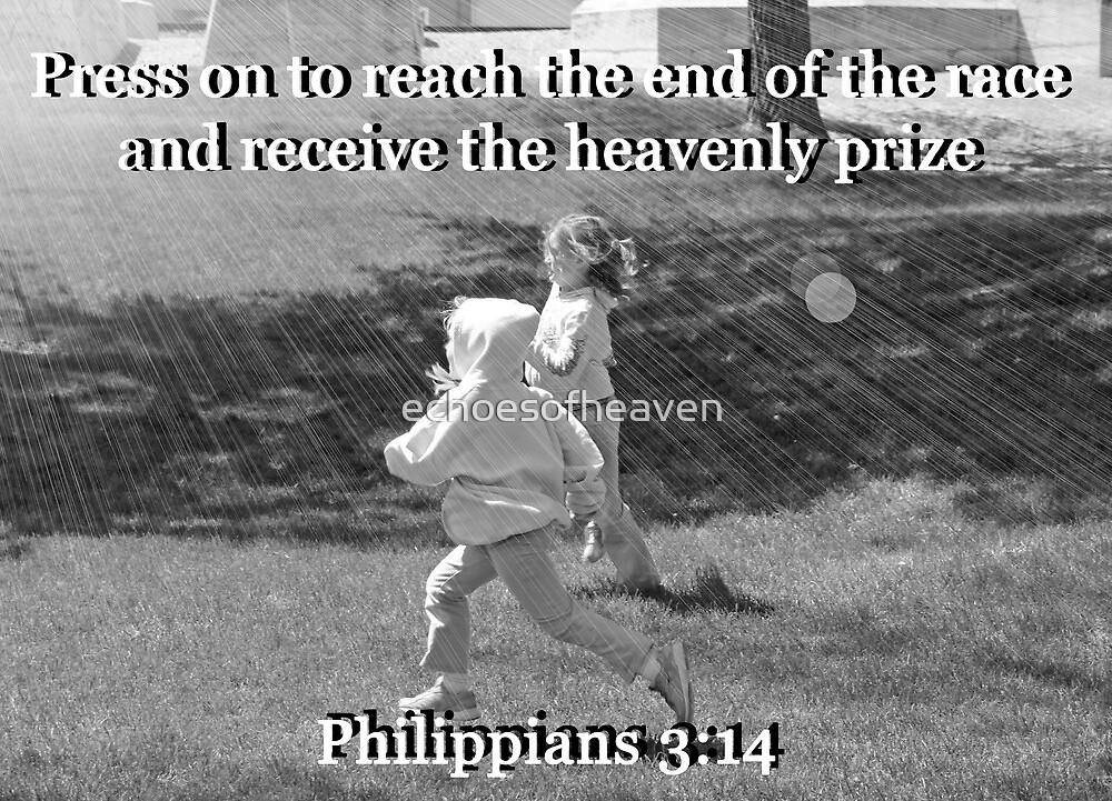 """Philippians 3:14"" by Carter L. Shepard by echoesofheaven"