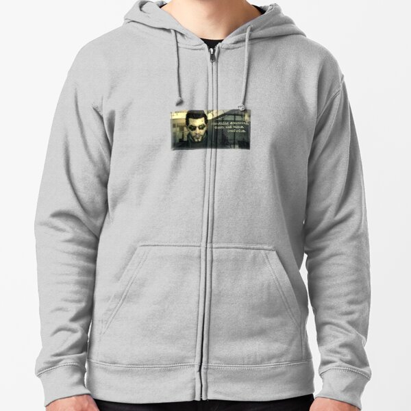 Deus Ex Death and Taxes Zipped Hoodie