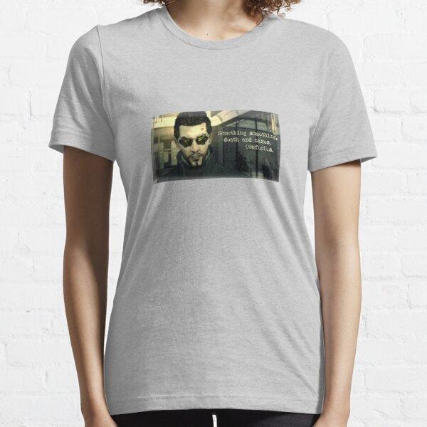 Deus Ex Death and Taxes Essential T-Shirt