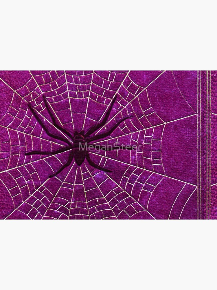 The Spiderweb Book in Pink by MeganSteer
