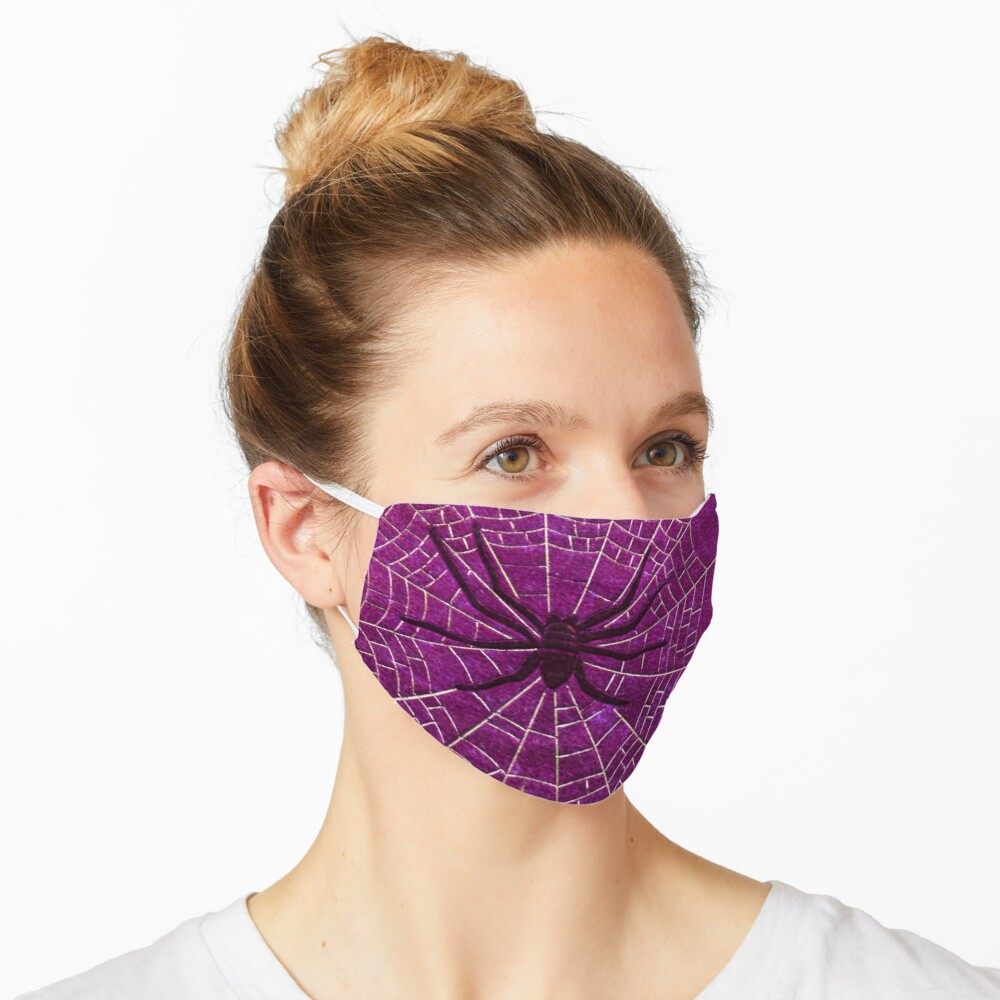 The Spiderweb Book in Pink Mask