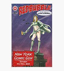 Redbubble at New York Comic Con 2012 Photographic Print