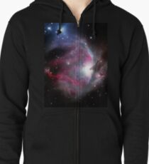 Orion Nebula Zipped Hoodie