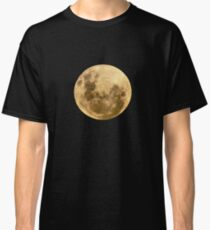 Moon on the man Classic T-Shirt