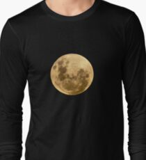 Moon on the man Long Sleeve T-Shirt
