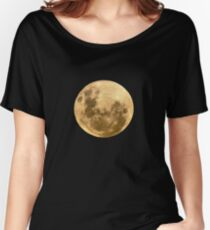 Moon on the man Women's Relaxed Fit T-Shirt