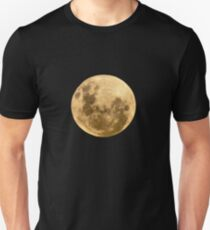 Moon on the man Unisex T-Shirt