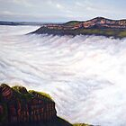 Morning Mist - Blue Mountains by Linda Callaghan