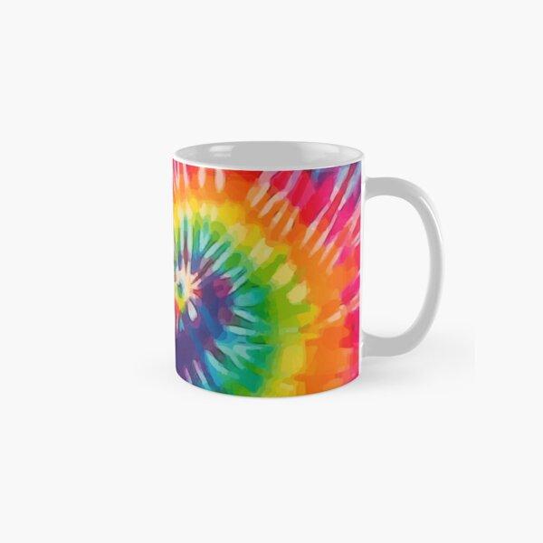TIE DYE RAINBOW SPIRAL Classic Mug