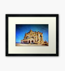 Casino in Ruins Framed Print