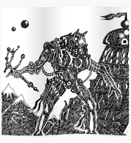 Armoured Mountain Poster