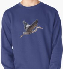 Great Blue Heron Pullover