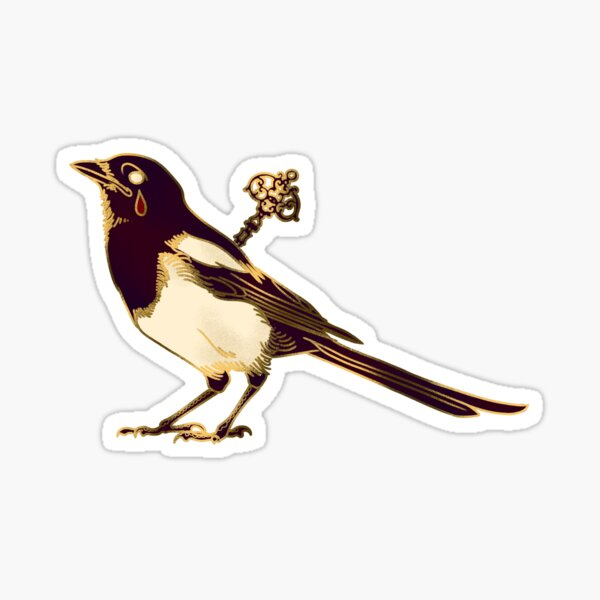 Magpie - One for Sorrow Sticker