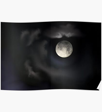 Night of the Blue Moon Poster
