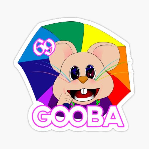 Gooba Mouse Rat Emoji, pegatina inspirada en el video musical Tekashi 6ix9ine. Pegatina
