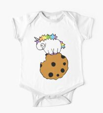 Arnold the Unicorn Noms a Cookie One Piece - Short Sleeve