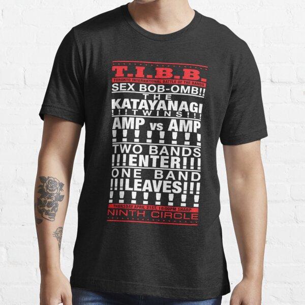 T.I.B.B!!! SEX BOB-OMB!! Vs!!! THE KATAYANAGI TWINS!!!!!! Essential T-Shirt