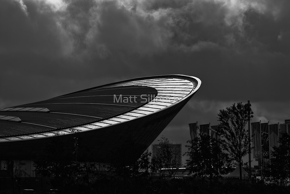 The Velodrome at London 2012 Olympic Park by Matt Sillence