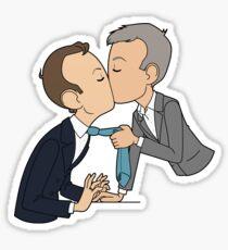 Give us a kiss Sticker