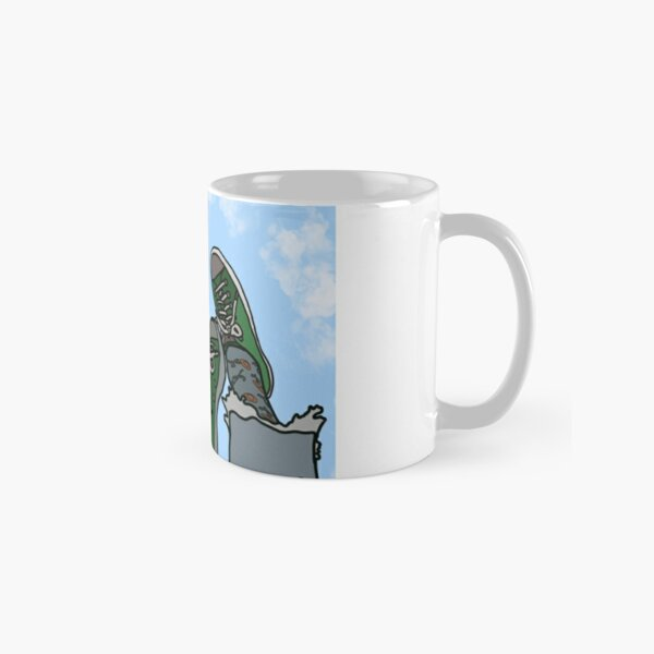 Daydreaming in Clouds Aesthetic Classic Mug