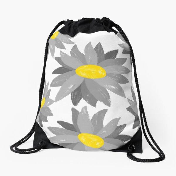 Impresión gráfica floral Diseño gráfico Ilustración digital Flores Mochila saco