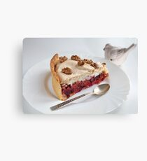 Sweet dessert  Canvas Print