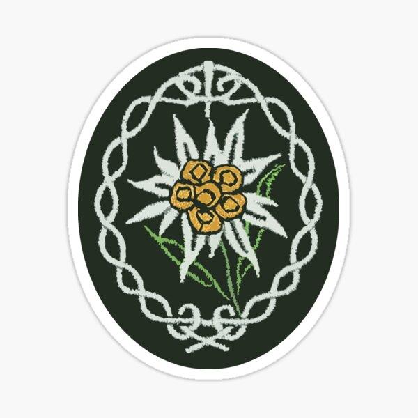 Badge / Patch Edelweiss Sticker