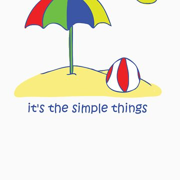 Simple Things - Beach Ball by jonnyboy98